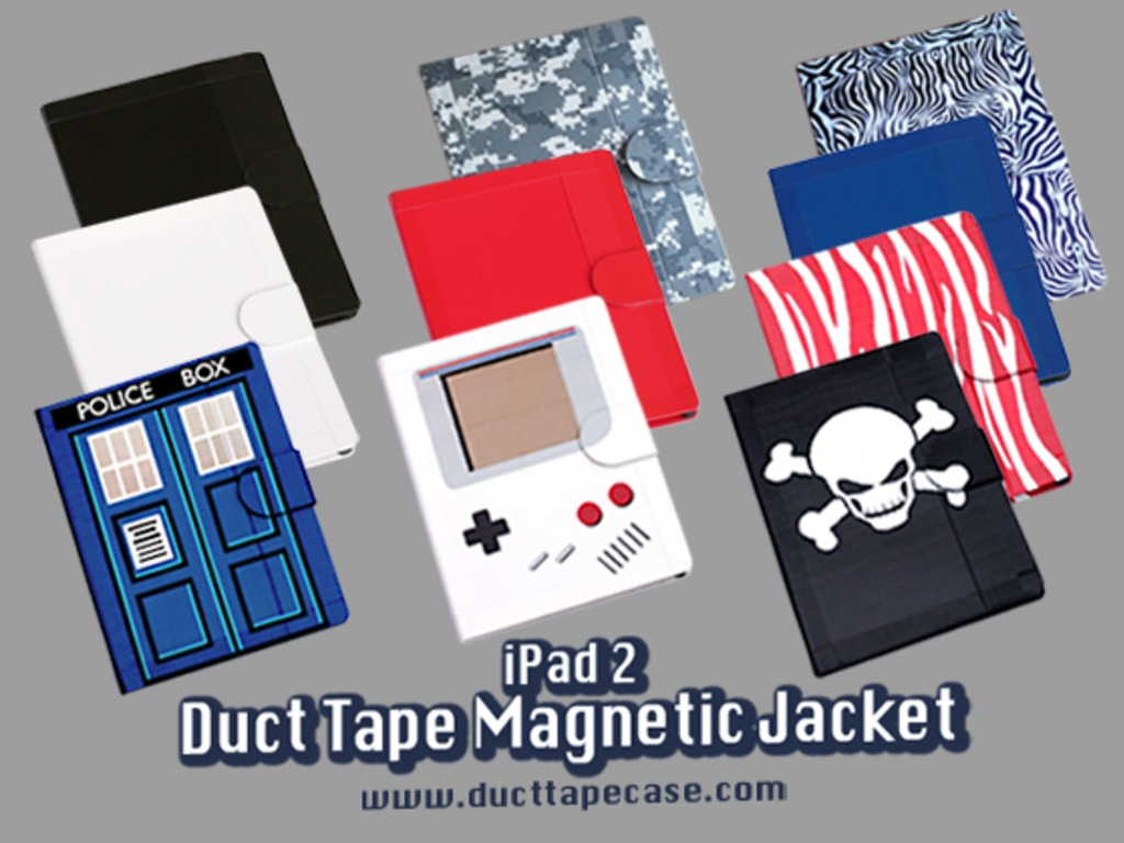 iPad 2 Duct Tape Magnetic Jacket's video poster