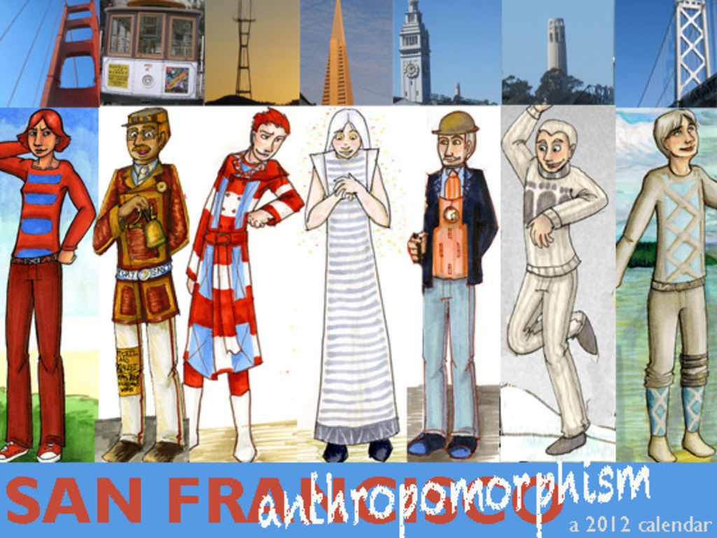 San Franthropomorphism 2012 Calendar's video poster
