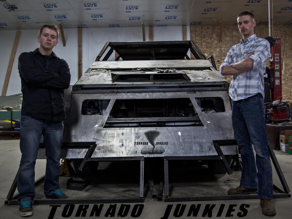 Tornado Junkies: Intercept Vehicle Build's video poster