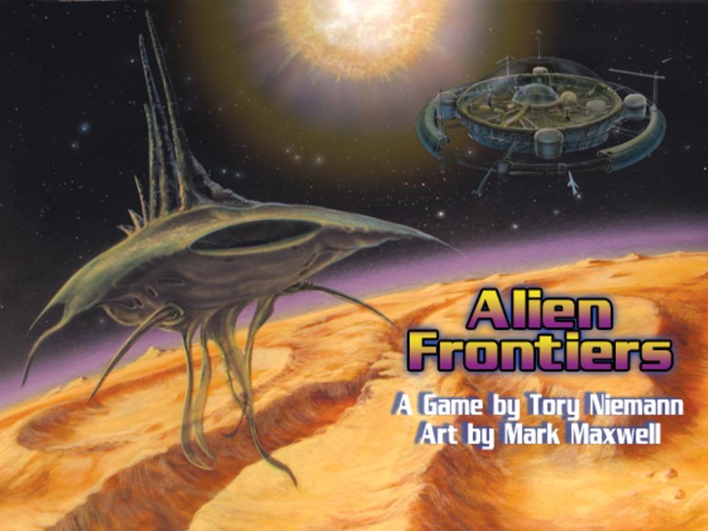 Alien Frontiers: Retro-Future Sci Fi Board Game's video poster