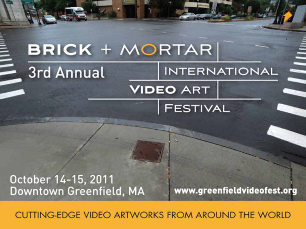 Brick and Mortar International Video Art Festival's video poster