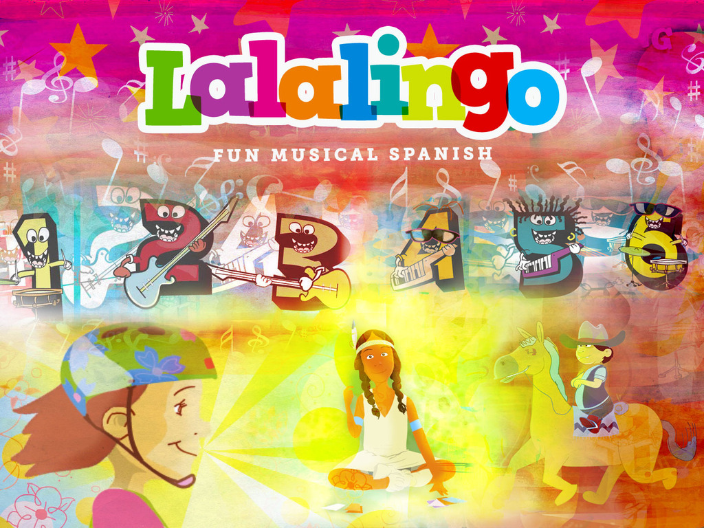 Lalalingo! animated music videos to learn Spanish.'s video poster