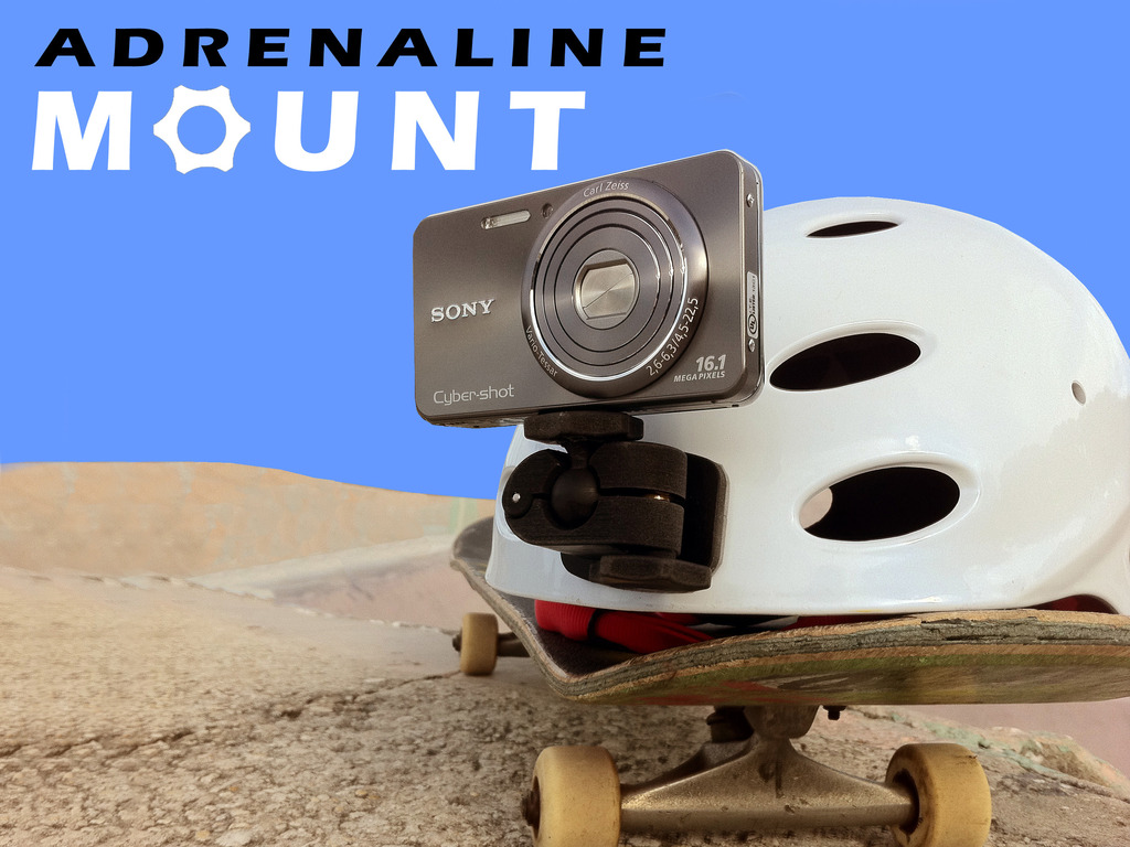 Adrenaline Helmet-Cam Mount's video poster