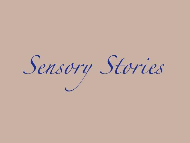 Sensory Stories.