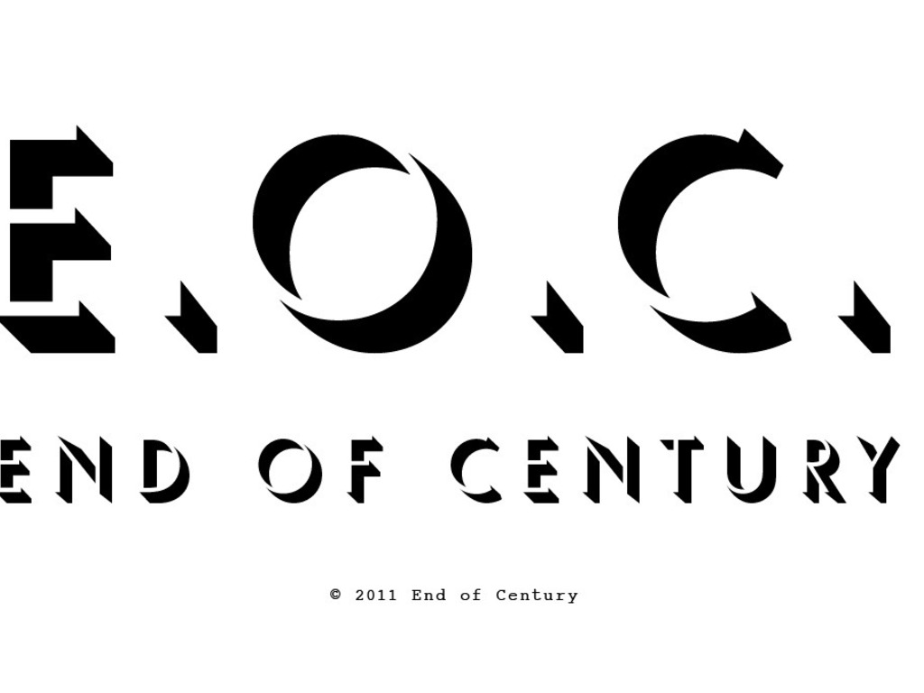 End of Century's video poster
