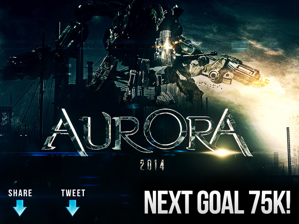 Aurora - Twisted Robot Love Story's video poster