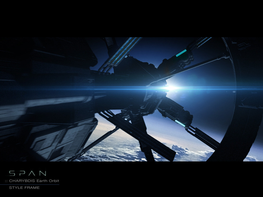 SPAN - A Science Fiction Film's video poster