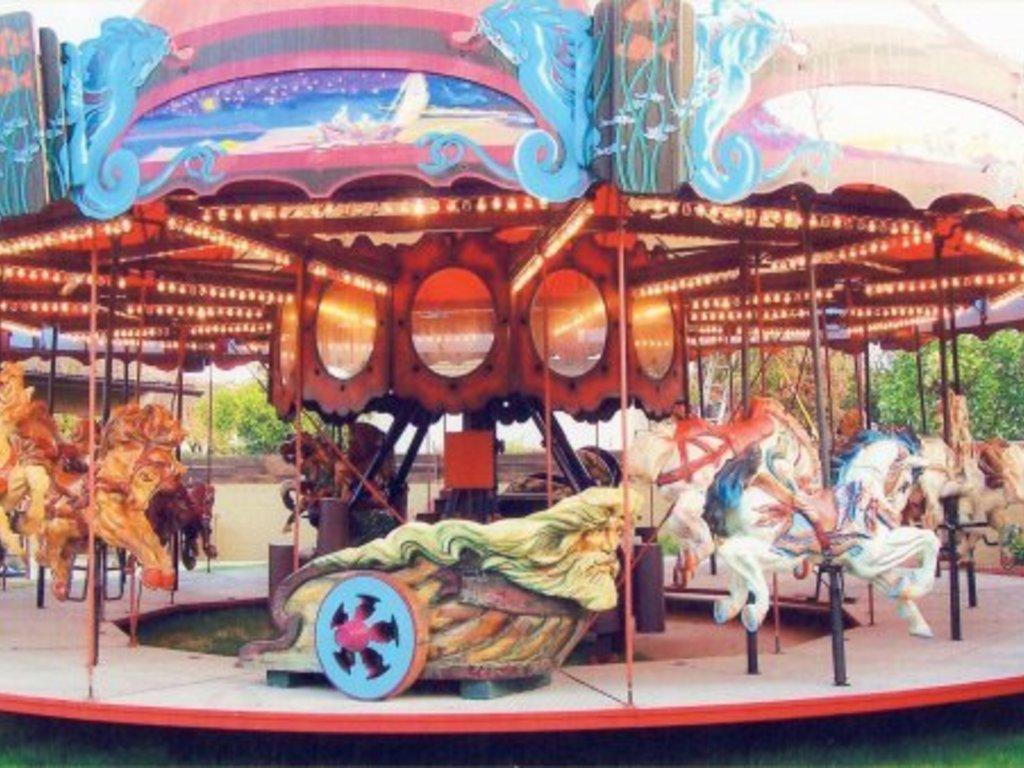 """Art in Motion""- Cape Cod's Carousel of Light's video poster"