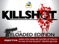 Killshot Reloaded: An Assassin Tabletop RPG