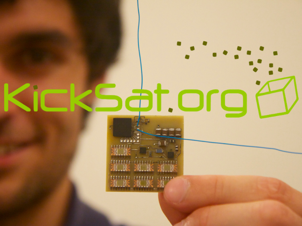 KickSat -- Your personal spacecraft in space!'s video poster