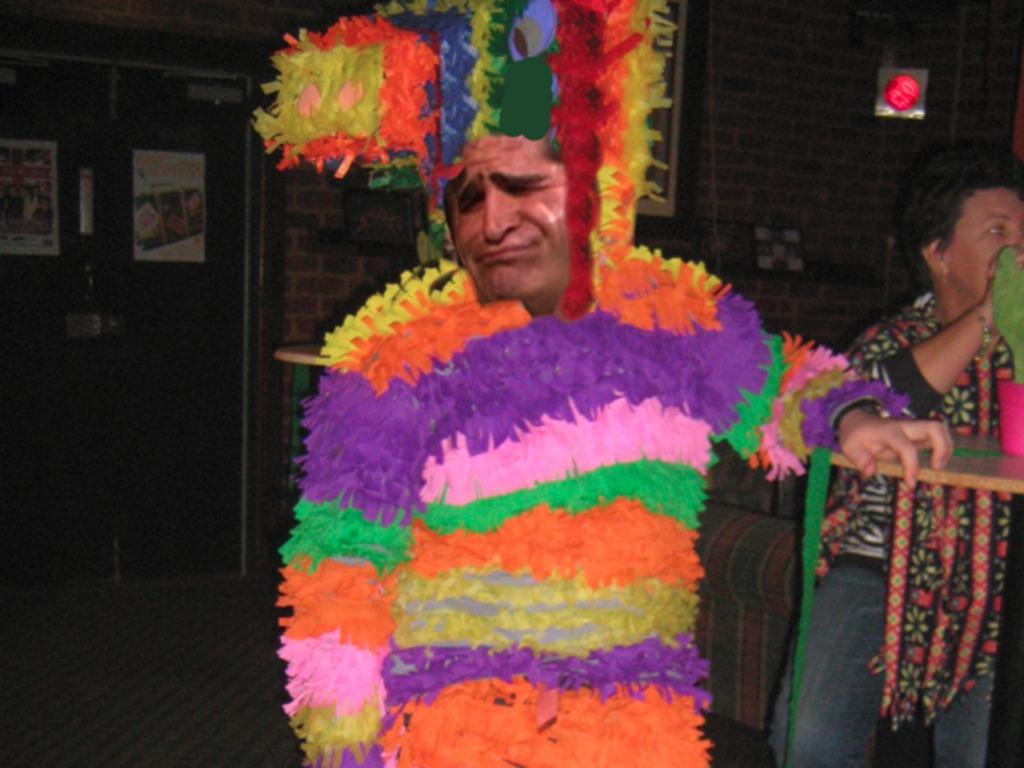 Papa Piñata's video poster