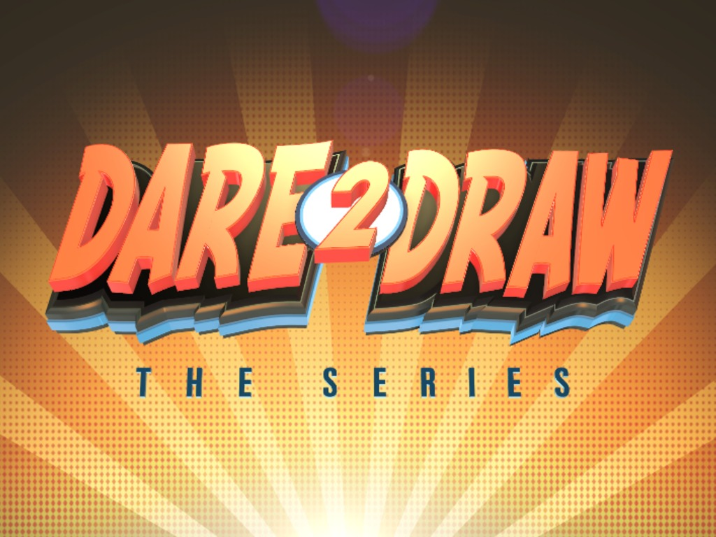 """Dare2Draw """"The Series""""  TV Pilot's video poster"""