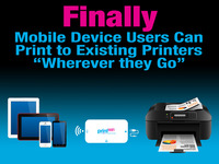 "printWiFi™ - Mobile Device Printing ""Wherever You Are"""