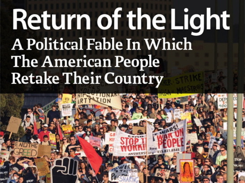 RETURN OF THE LIGHT:  The Year the People Retook America's video poster