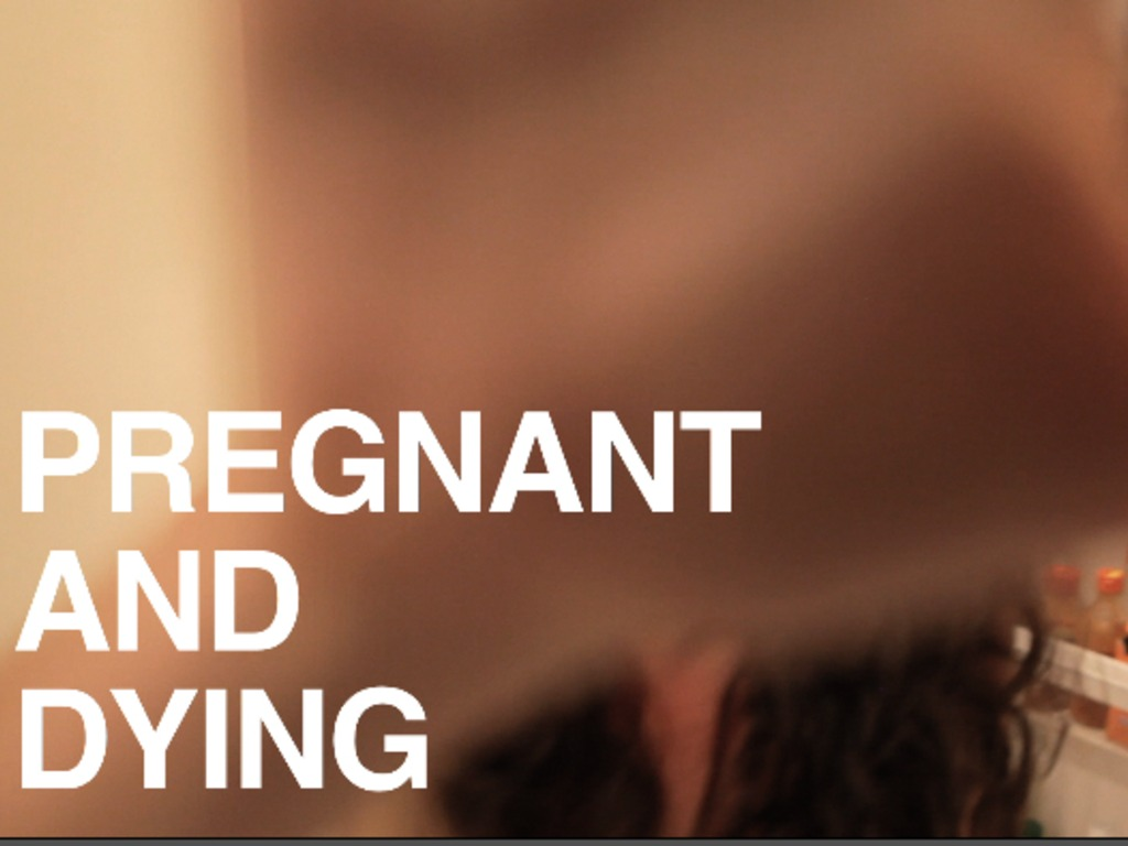 Pregnant and Dying's video poster