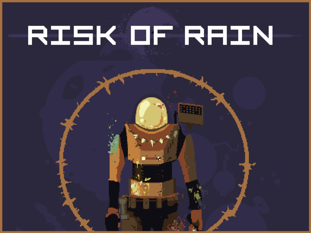 Risk of Rain's video poster