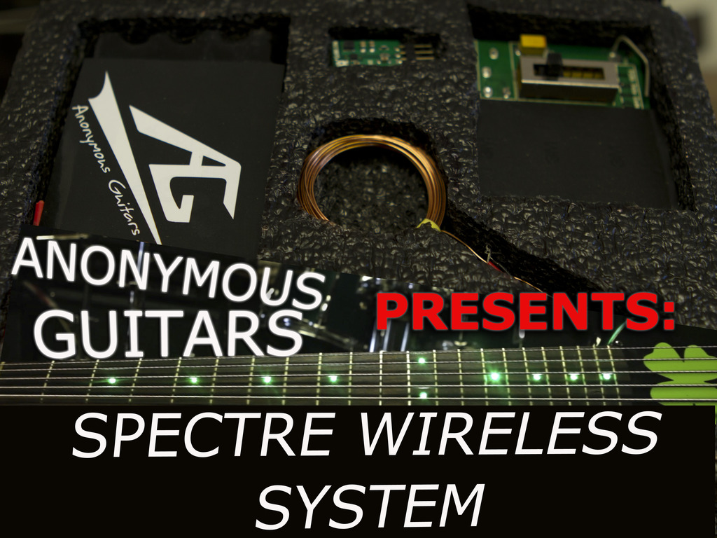 Anonymous Guitars Spectre Wireless System's video poster