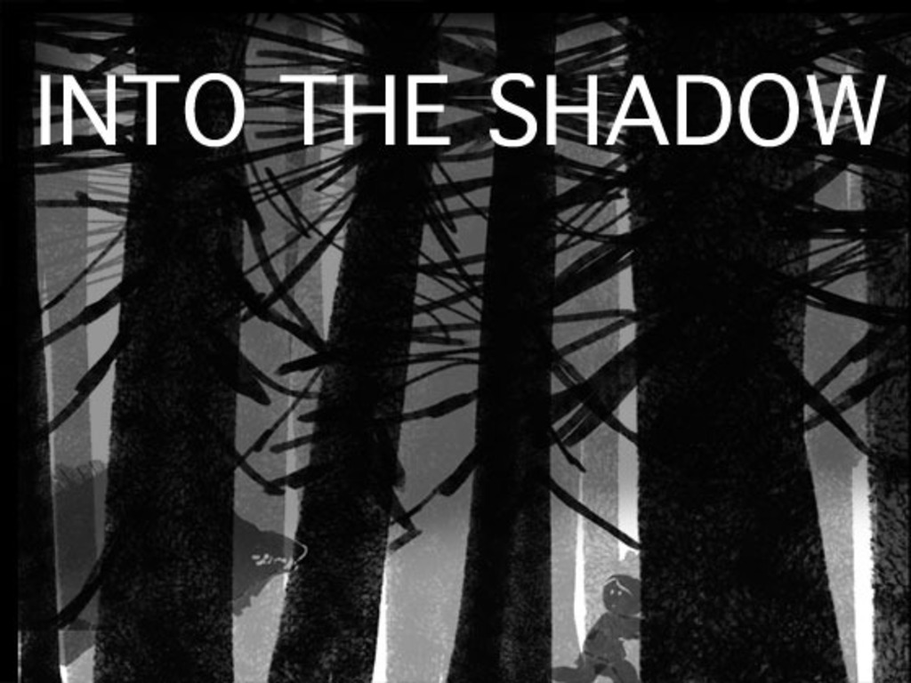 """Into the Shadow"" mini graphic novel's video poster"