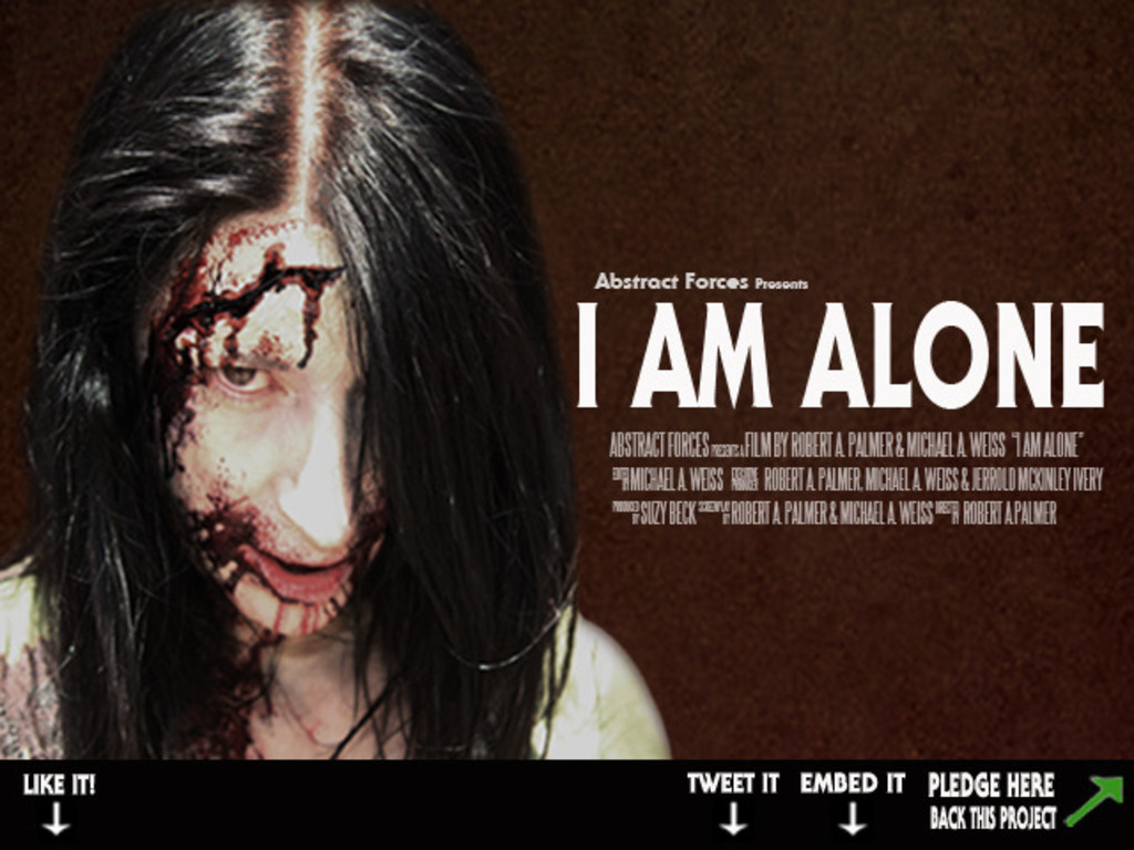 I Am Alone the Movie's video poster
