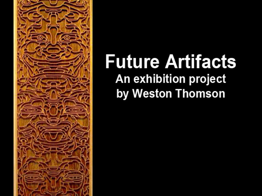Future Artifacts Project's video poster