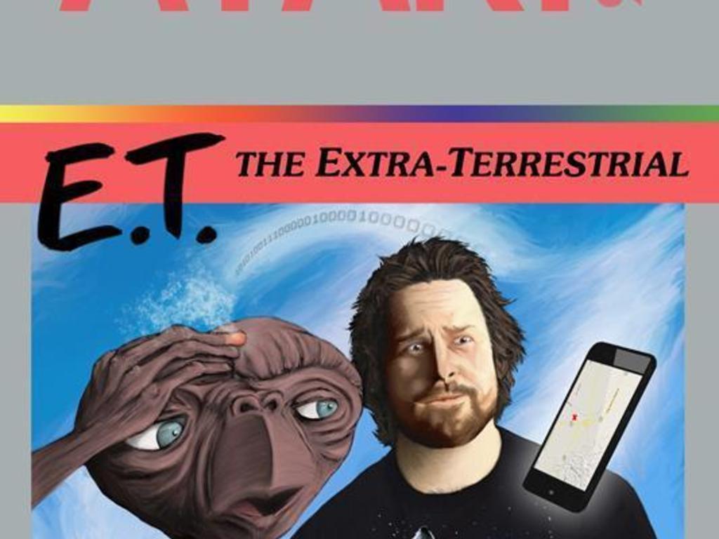 "E.T. The Extra-Terrestrial Atari ""30th Anniversary"" Poster's video poster"