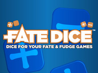 Fate Dice™: Dice For Your Fate & Fudge Games