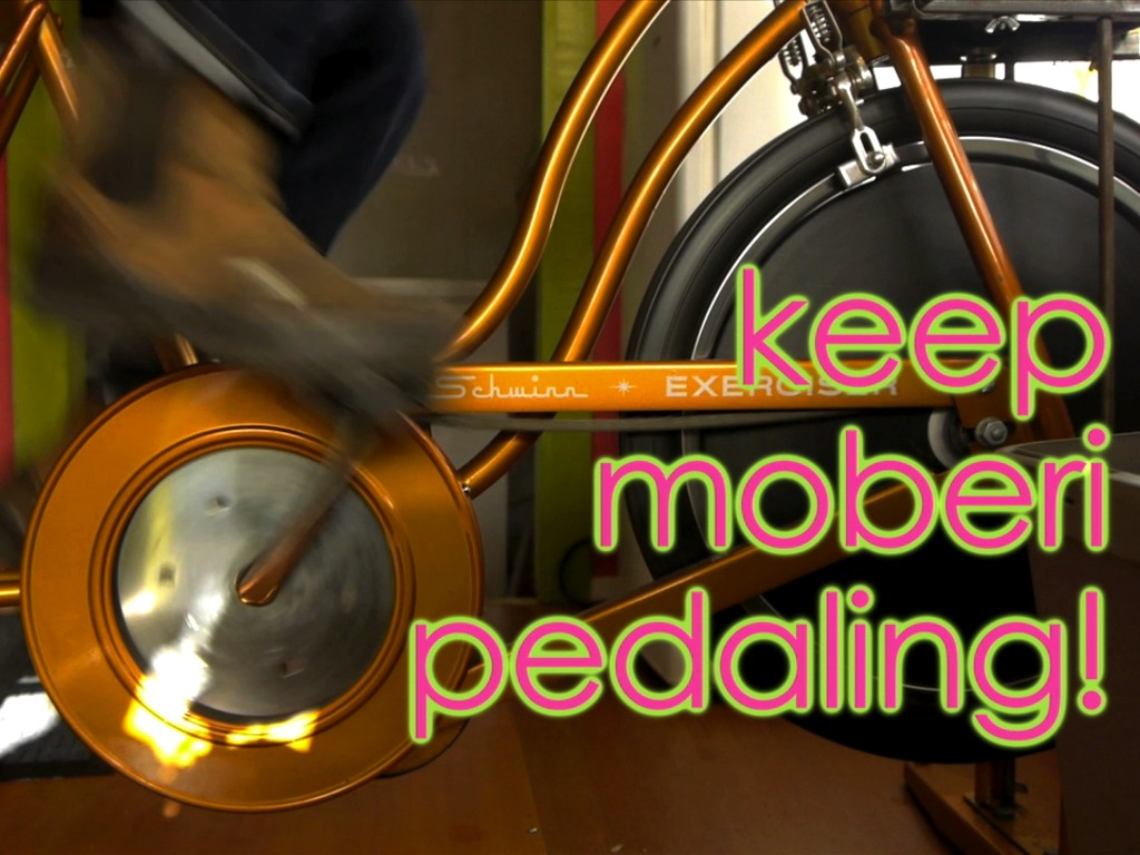 Keep Moberi Pedaling: Bike powered smoothies for all!'s video poster
