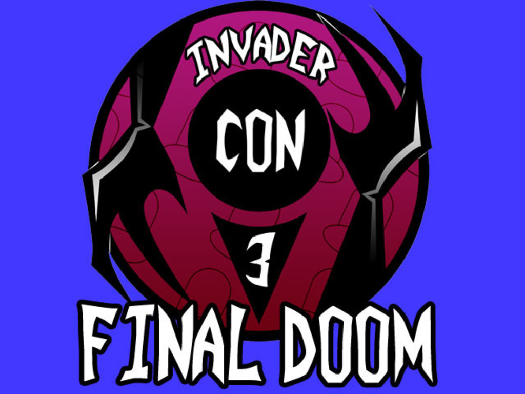 InvaderCON III: FINAL DOOM's video poster