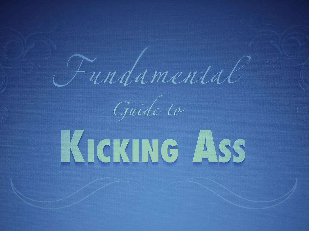 The Fundamental Guide to KICKING ASS's video poster