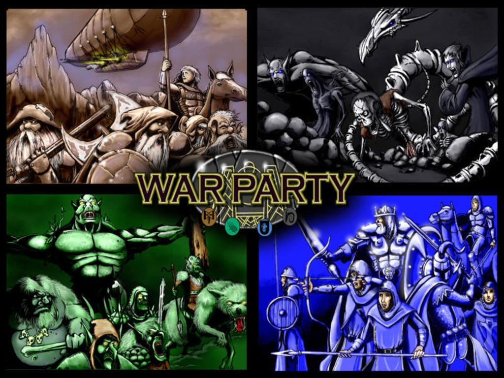 Warparty's video poster