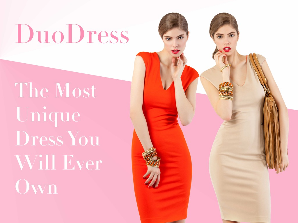 DUODRESS: THE DRESS YOU WILL LOVE INSIDE OUT.'s video poster