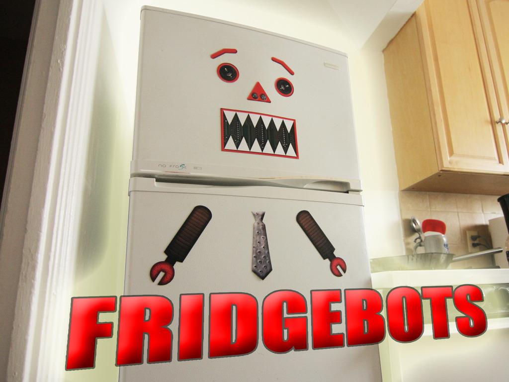 FridgeBots: turning appliances into ROBOTS's video poster