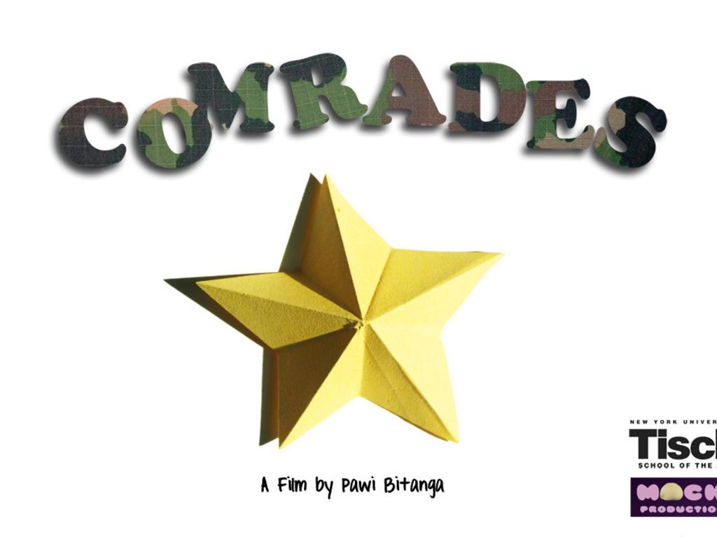 Comrades: an NYU short film's video poster