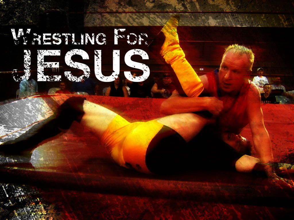 Wrestling For Jesus's video poster