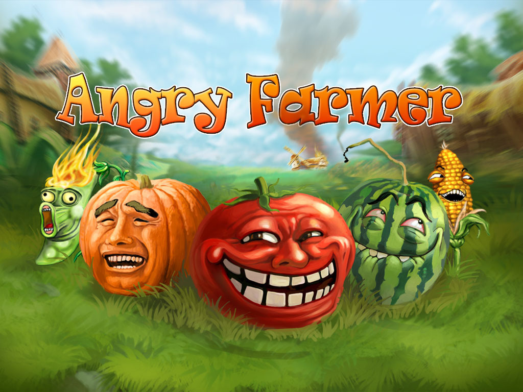 Angry Farmer - real time strategy cross-platform social game's video poster