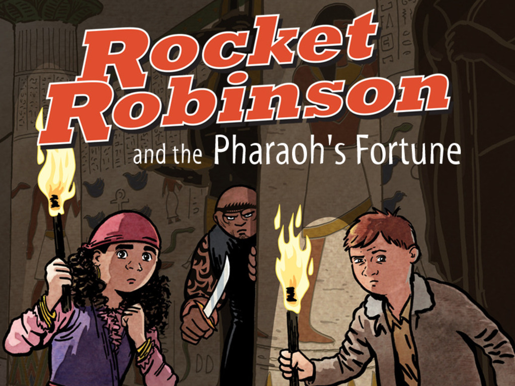 The Rocket Robinson Graphic Novel's video poster