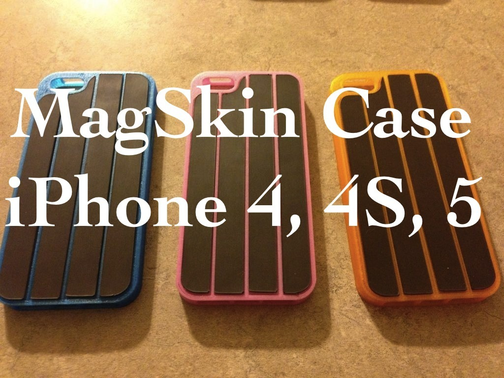 Magnetic Case For iPhone 4/4S/5, MagSkin™ Case's video poster