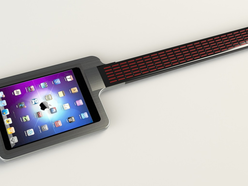 iTar - turn your iPad into a guitar's video poster