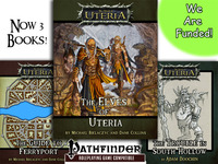 The Elves of Uteria RPG Sourcebook