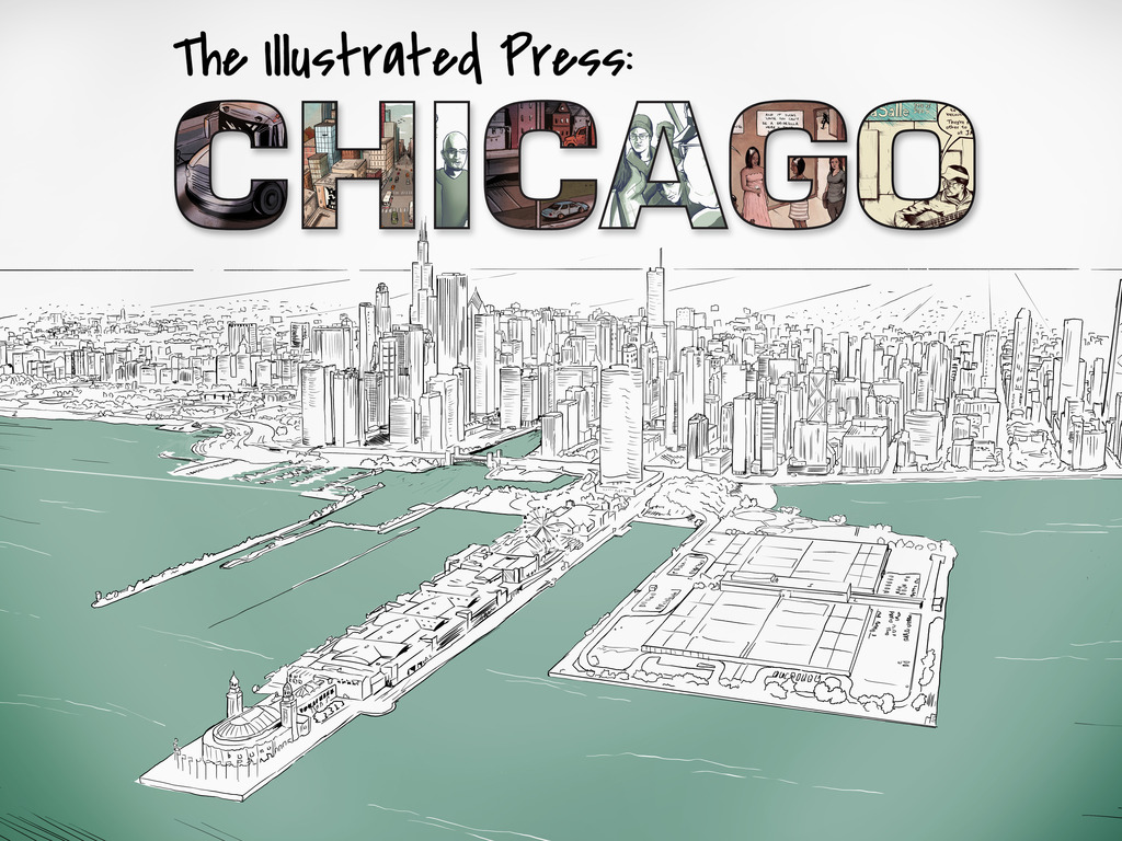 The Illustrated Press: Chicago's video poster