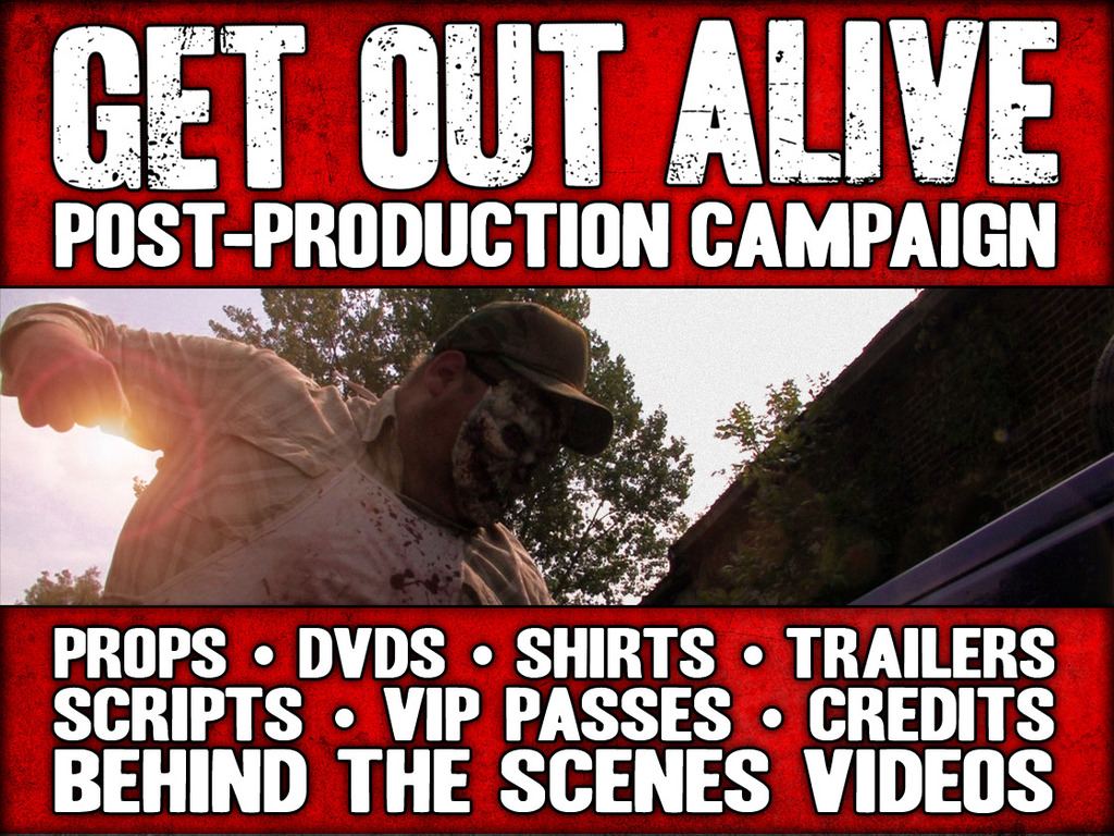 GET OUT ALIVE - Post-Production Campaign's video poster