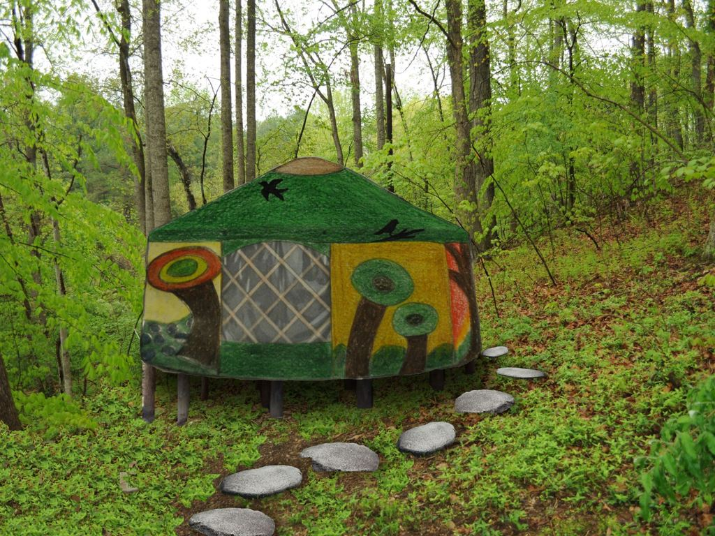 Quilted Yurt Classroom in the Forest's video poster
