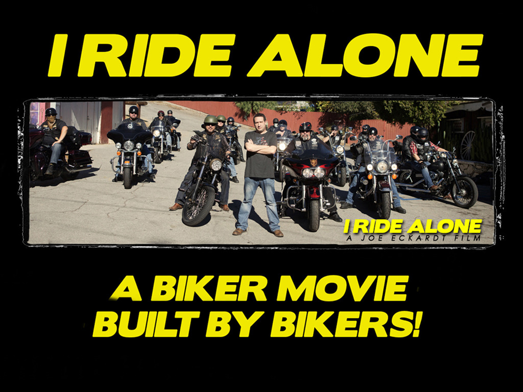 I Ride Alone - A Biker Film, Built By Bikers's video poster