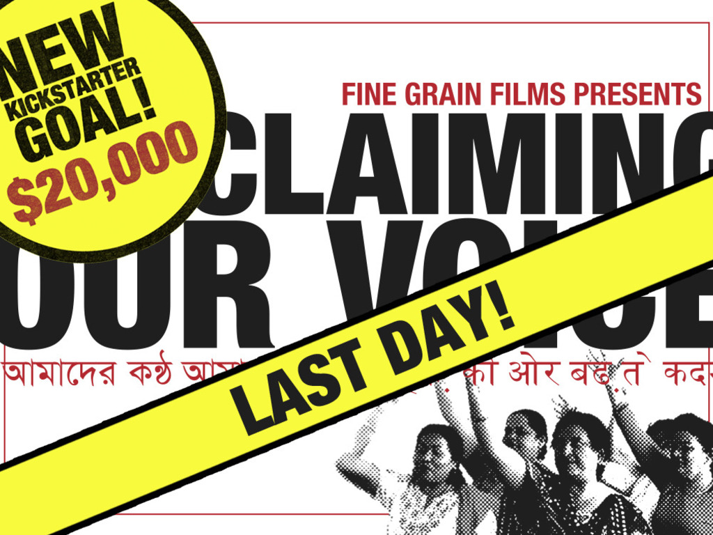 Claiming Our Voice - A Documentary Film's video poster