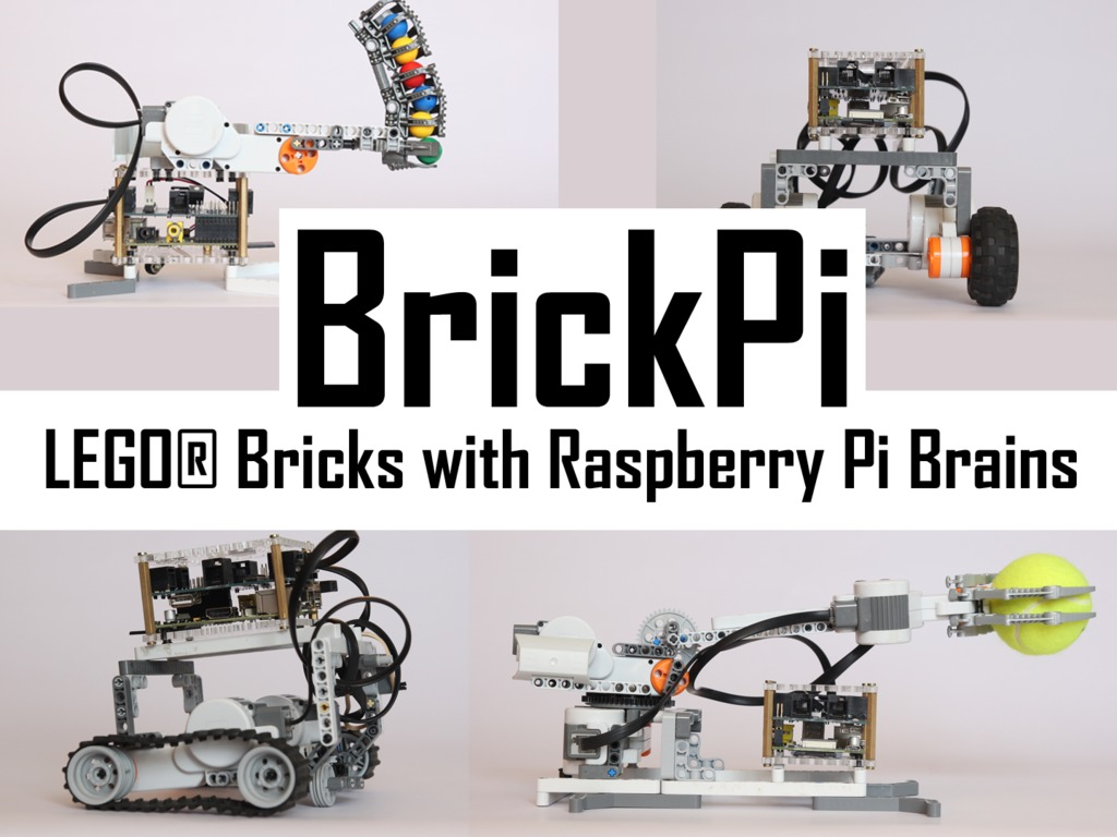 BrickPi: LEGO® Bricks with a Raspberry Pi Brain's video poster