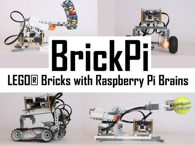 LEGO Com um Raspberry Pi