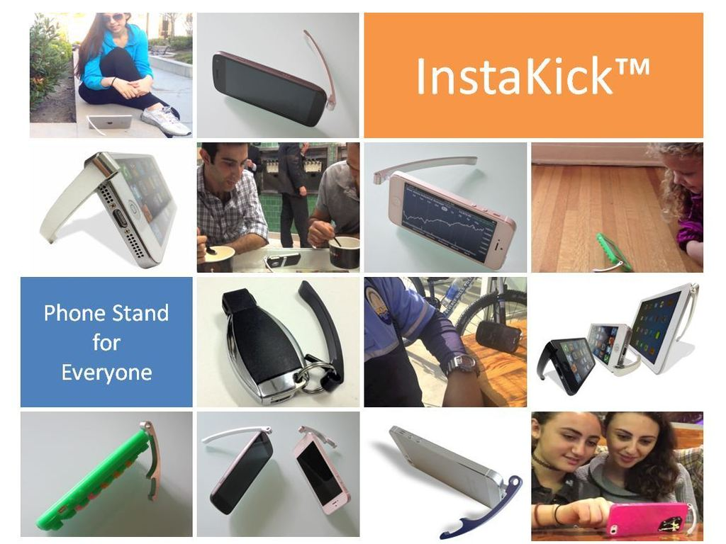 Instakick™ iPhone and Smartphone Stand's video poster