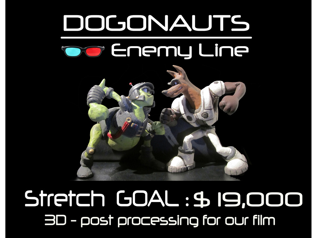 DOGONAUTS - Enemy Line's video poster
