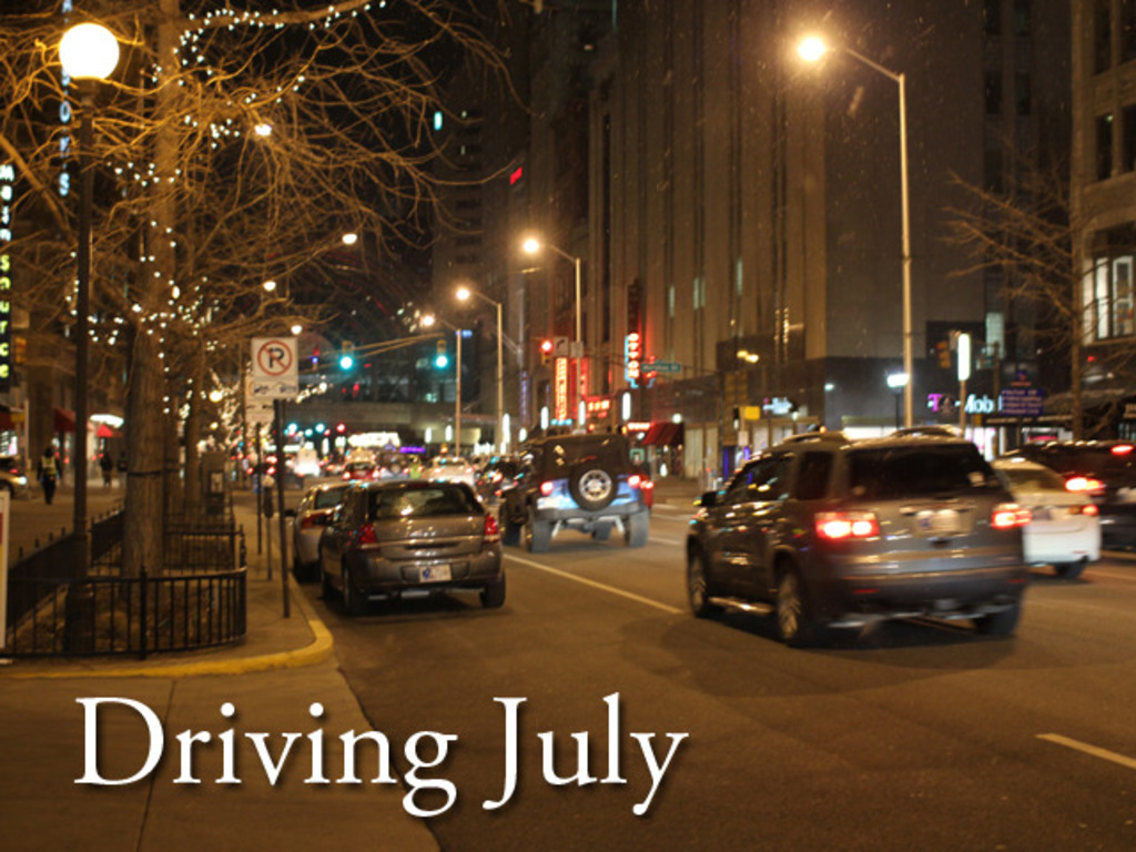 Driving July's video poster
