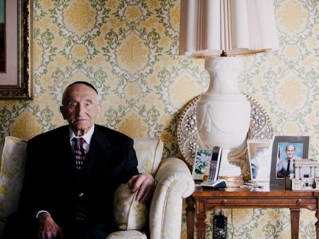 Holocaust Survivor Portrait Exhibit's video poster